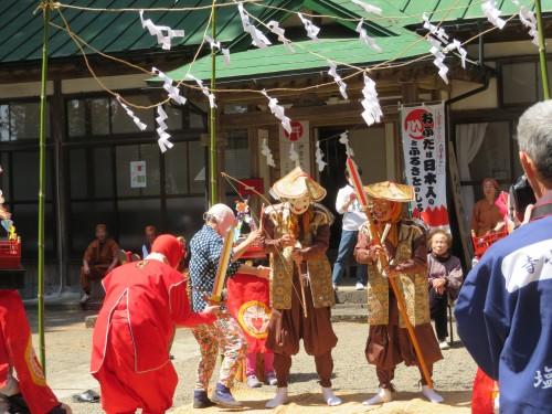 寺小路獅子舞2